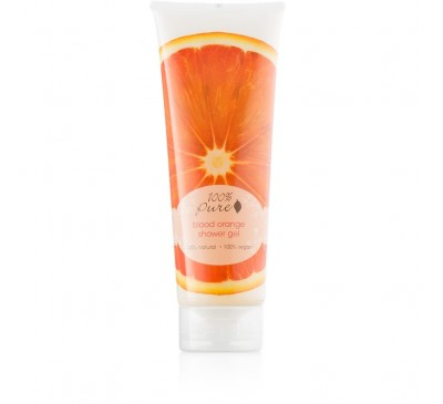 Gel de duş cu aromă de portocale rosii