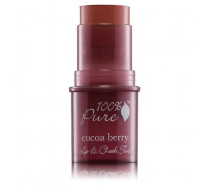 Nuantator satinat pentru buze şi obraji – Cocoa Berry (cacao)