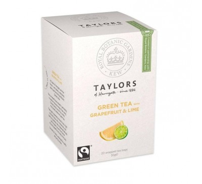 Ceai verde cu grepfrut si lime