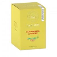 Ceai infuzie lemongrass si ghimbir