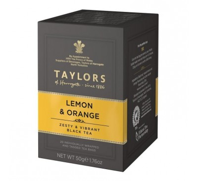"""Ceai negru """"lamaie si portocala"""""""