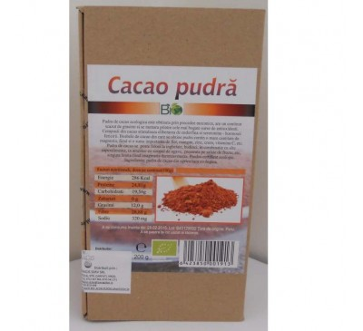 PULBERE CACAO 200g