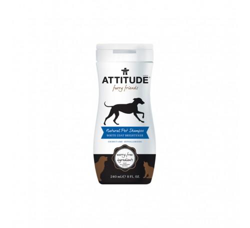 Sampon natural pentru animalul tau de casa – blana alba stralucitoare 240 ml