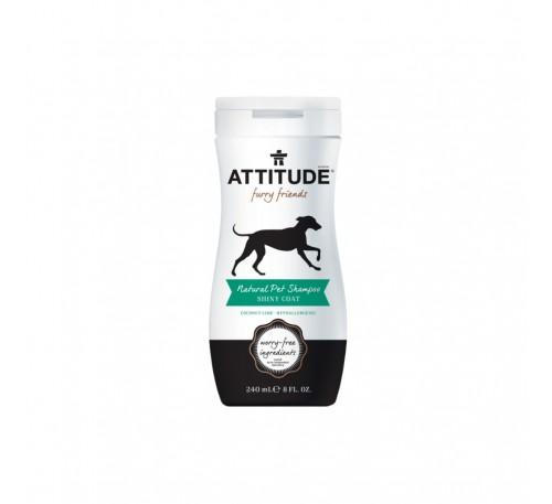 Sampon natural pentru animalul tau de casa, blana stralucitoare 240 ml