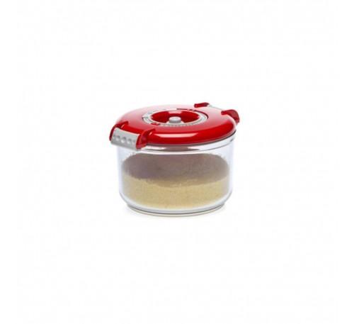 Recipient rotund pentru păstrare în vid, 0.75 litri