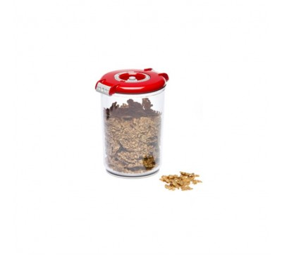 Recipient rotund pentru păstrare în vid, 1.5 litri