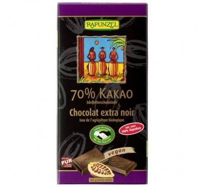 Ciocolata amaruie 70% cacao VEGANA