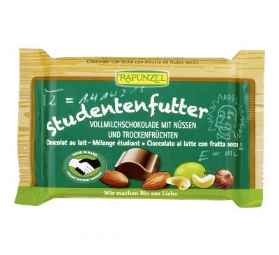 Ciocolata cu mix de fructe si alune