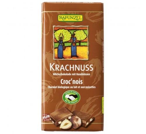 Ciocolata din lapte integral cu alune