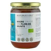 Miere ecologica poliflora cruda din Flori de Munte, Republica BIO, 700g