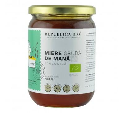 Miere de Mana ecologica cruda Republica BIO, 700 g